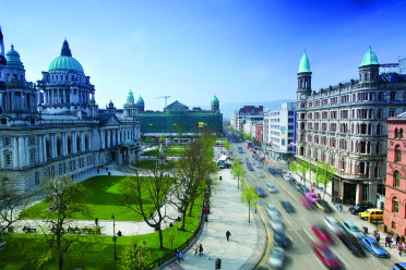 20796 belfast city hall aerial 1